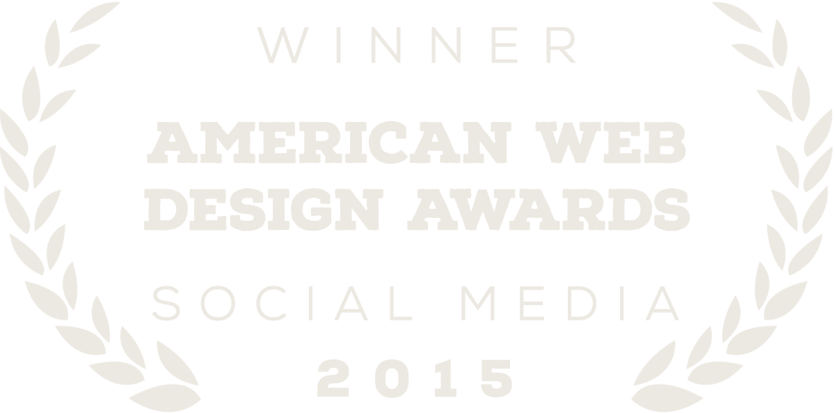 American Web Design Awards Winner
