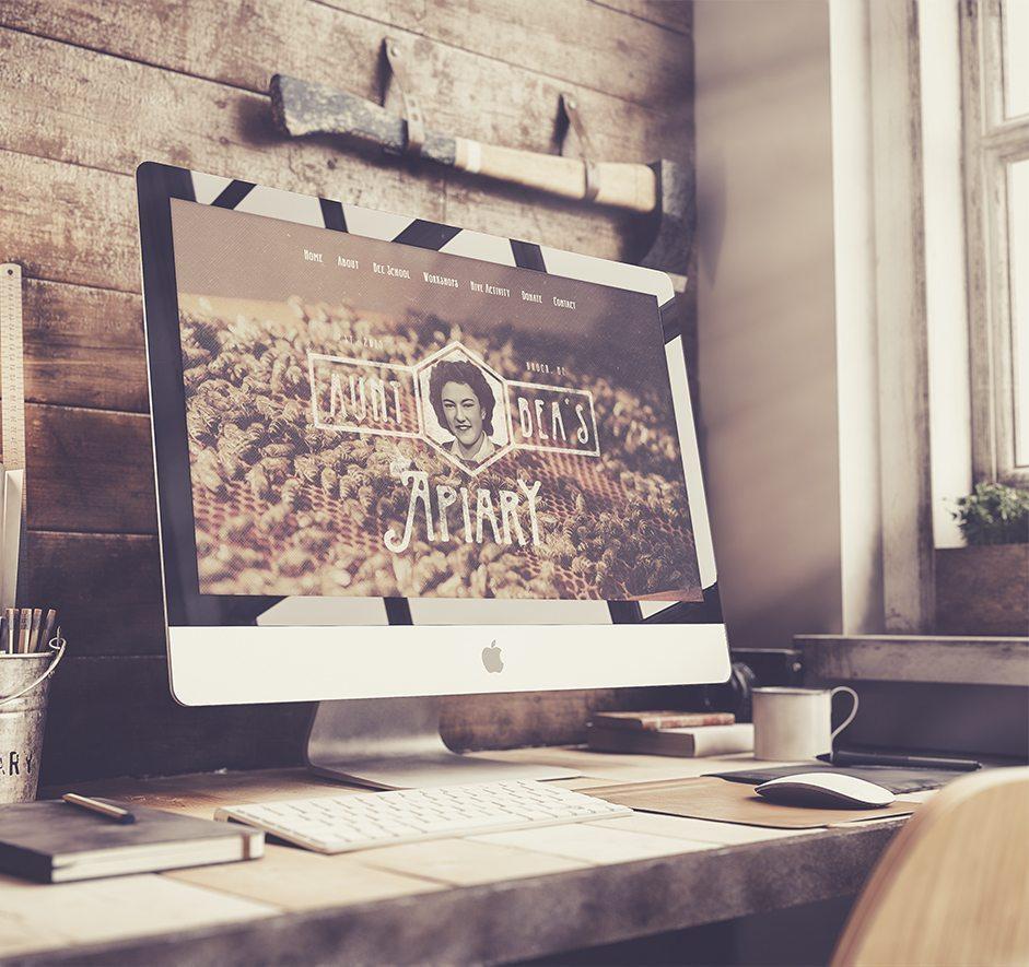 Aunt Bea's Apiary • Website Design