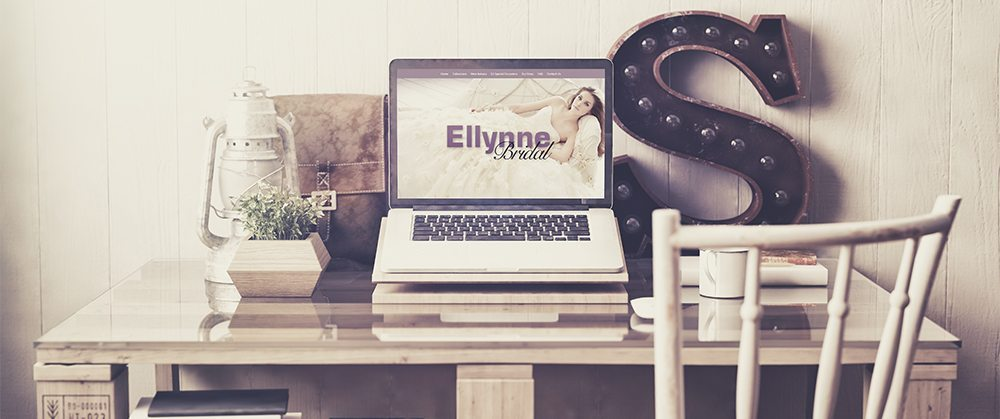 Ellynne Bridal • Website Design